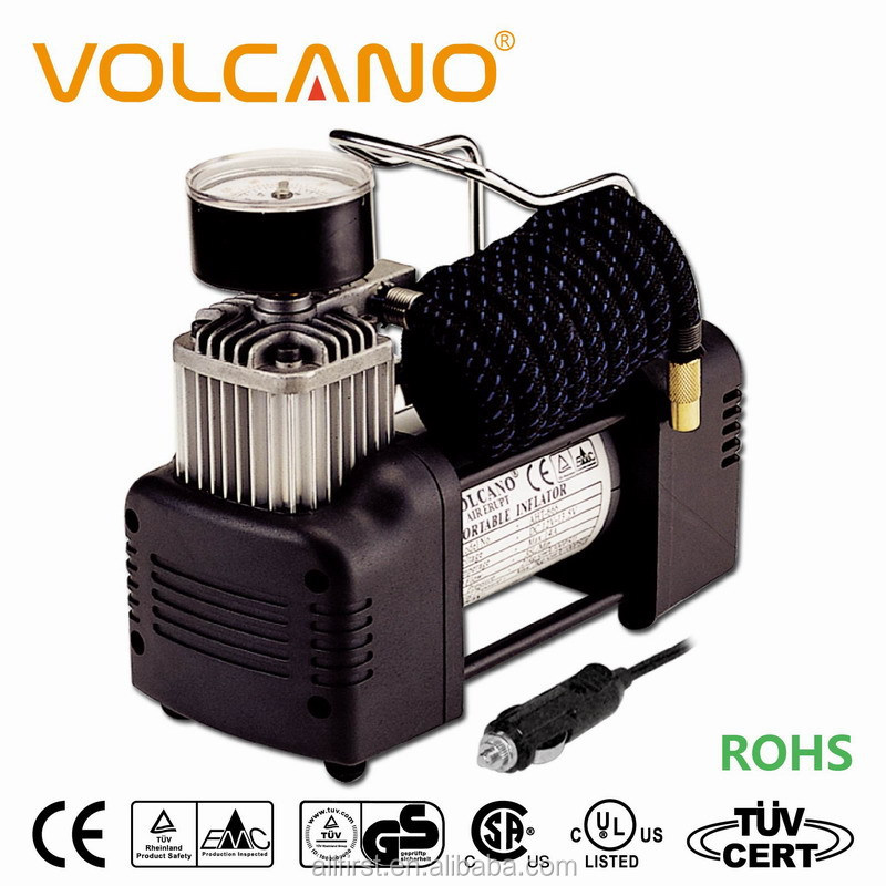 Hot sale DC12V heavy duty car tire inflator with best price and high quality