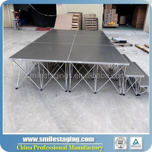 2015 new arrive light weight stage rental chicago- smart stage event stage