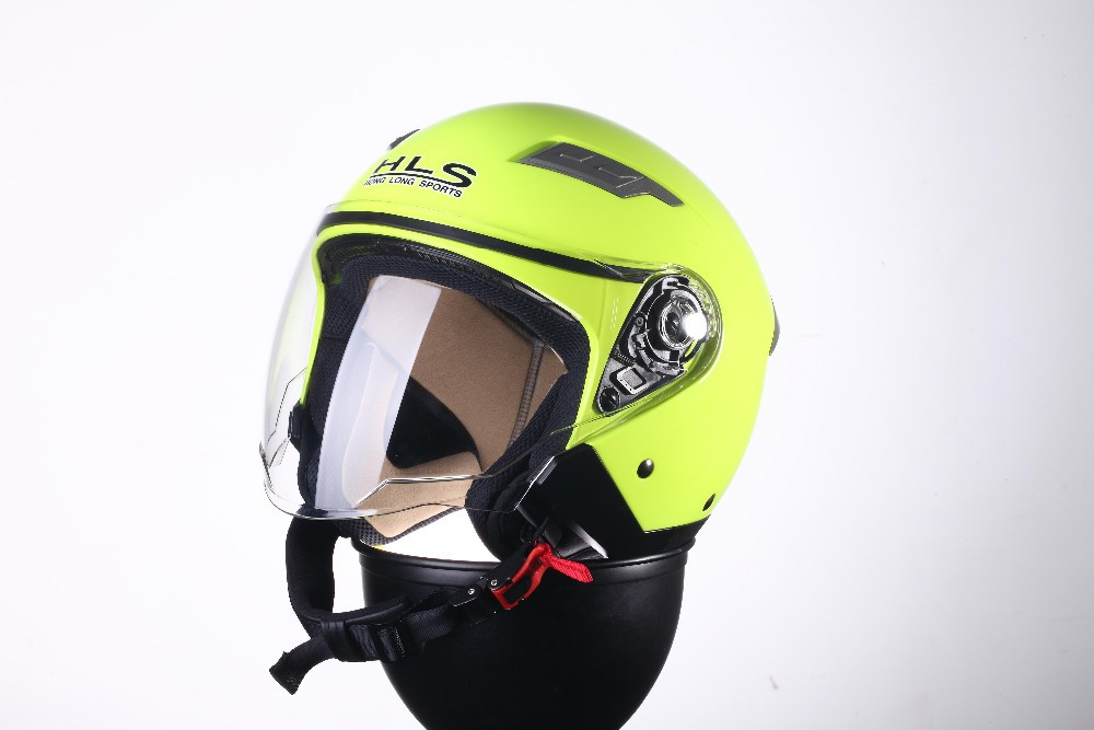 2015 New designed high quality scooter helmet with single visor--ECE/DOTcertification