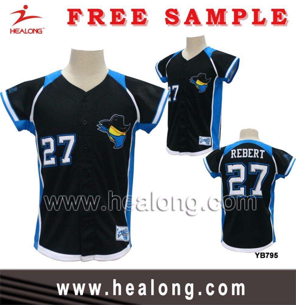 Healong mens custom made sublimated baseball jersey uniform shirt design buy baseball uniform