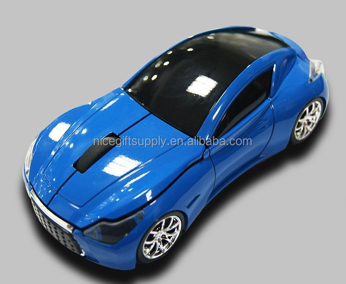 Wireless Optical Mouse 2.4G Car Shape with USB Receiver