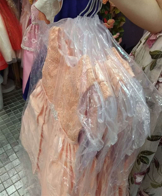 Wholesale Children's Boutique Dress  Evening Dress High Low Satin Baby Girls Party Dress