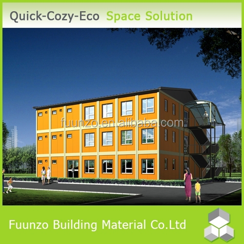 Energy Effective Economical Quick Assembly Multi-Storey Fast Build Portable Classrooms