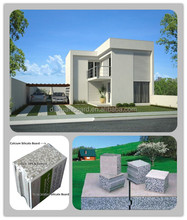 2014 CE, ISO&BV China green modular house/prefabs - Daquan lightweight EPS cement sandwich wall panel building system.