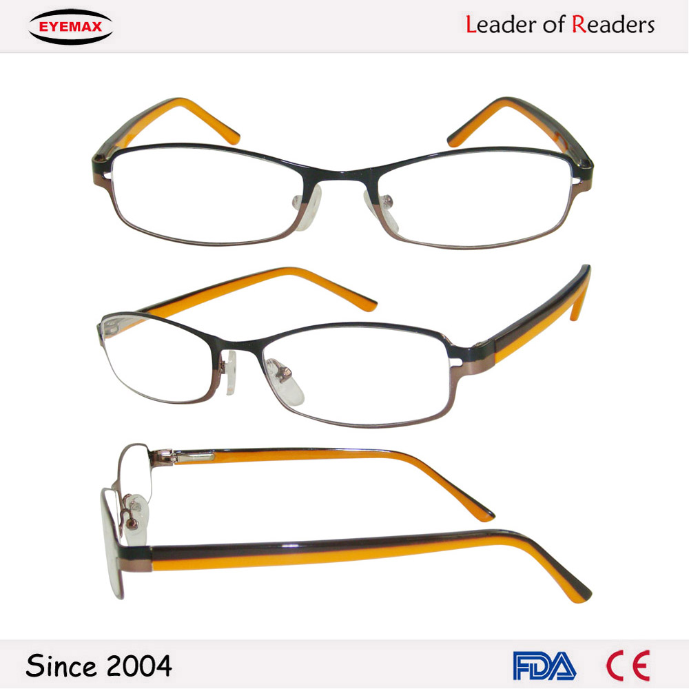 Popular color reading glasses ce and fda cerficated for usa