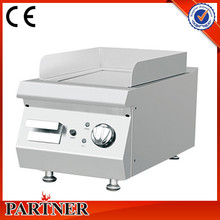 Kitchen Equipment Commercial Catering Restaurant Cookware 304 Stainless Steel Double Sided Grill And Griddle From Manufacturer