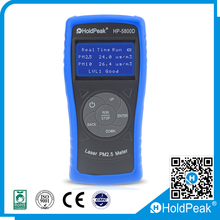 HoldPeak Professional Mini Particle Counter PM2.5 detector Dust Air Quality Monitoring