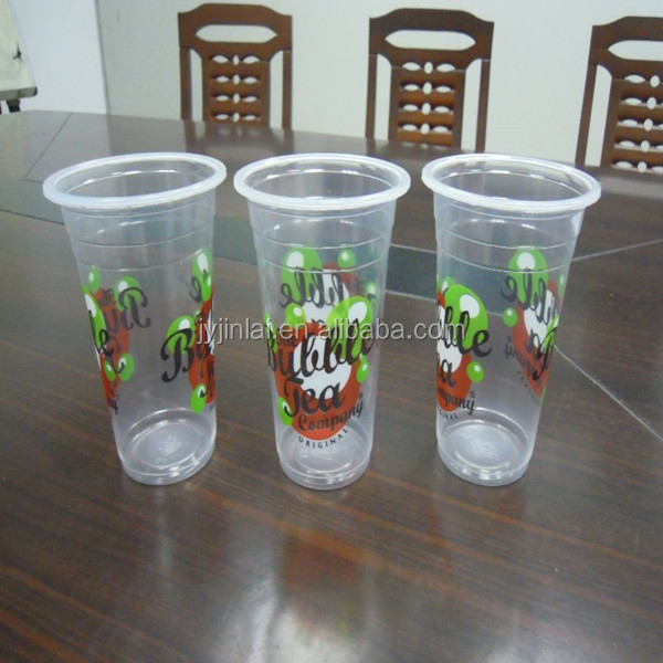 high quality transparent plastic cup for water
