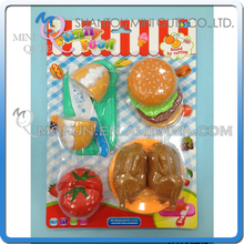 MINI QUTE Pretend Preschool Funny Bread cooking food fruit Vegetable kitchen play house set learning educational toy NO.ZQ133908