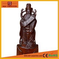 Buddha of Fortune Monzo 20*10*48cm crafts business gifts decorative animal wood carving