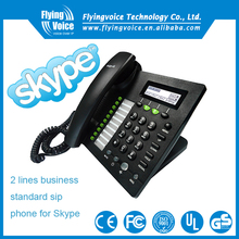 Skype gateway without pc ip phone IP622 with 2 line keys /sip accounts