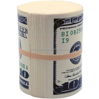 Logo printed Money Wad Stress Reliever/Money Wad Stress toy/squeeze ball for kids