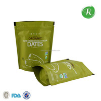 resealable laminated aluminum foil plastic bags/tea/coffee/food package for packaging