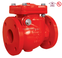 "3"" 300PSI Flanged End Swing Check Valve for fire fighting usage American standard"
