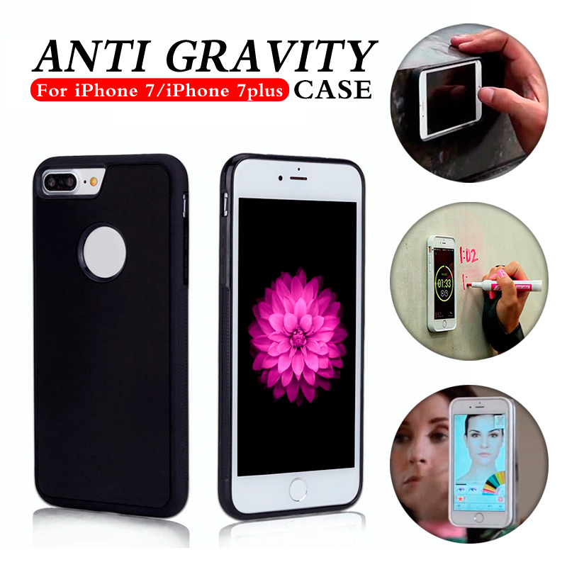 2016 China factory hot sell anti gravity phone case cover nano phone case mobile for iphone 7