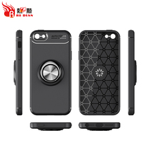 Cheap wholesale metal ring with car magnetic phone case for iphone 5s 5 se+case for iphone 5