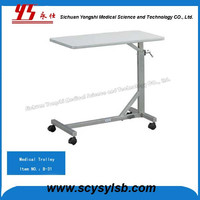 Hospital Metal Hand Food Trolley Cart for Sale