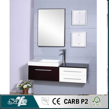 classical small wall mounted solid wood bath cabinet best sales products in alibaba