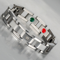2016 inventory 316L stainless steel bracelet for men