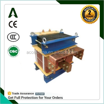 DDG power supply transformer low voltage heavy current electrical heating transformer
