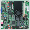 Intel I3 3217U ITX-M100 Industrial Thin clients motherboard,Embedded computer Motherboard with 10 RS232