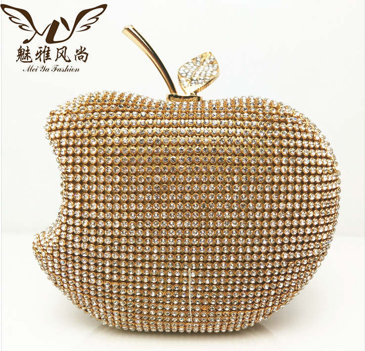 2017 Woman Evening Bag Luxury Diamond Gold Clutch Silver Clutches Crystal Bags Wallet Wedding Purse Party Banquet In Price On M Alibaba