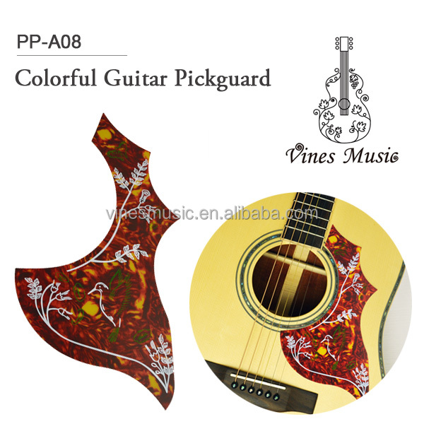 Custom Plastic Hummingbird Acoustic Guitar Pickguard/Guitar Accessories