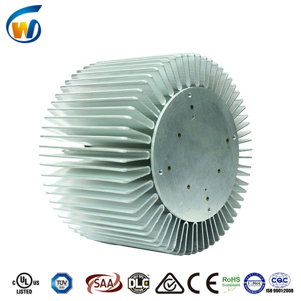 led high bay light aluminum heat sink coating