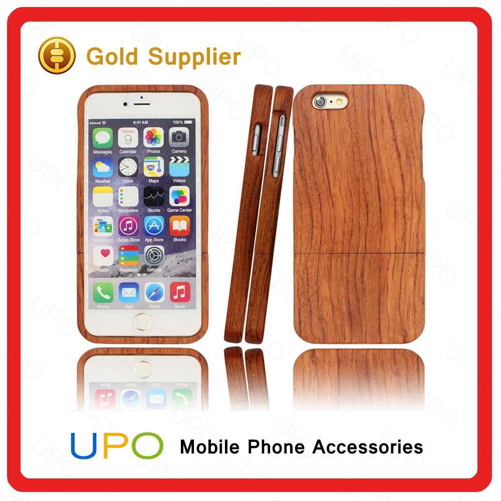[UPO] New Arrival Mobile Phone Case for iPhone 6, for iPhone 6 Case Real Wood Case Cover