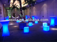 New design full colorled led cube seat lighting for KTV decor
