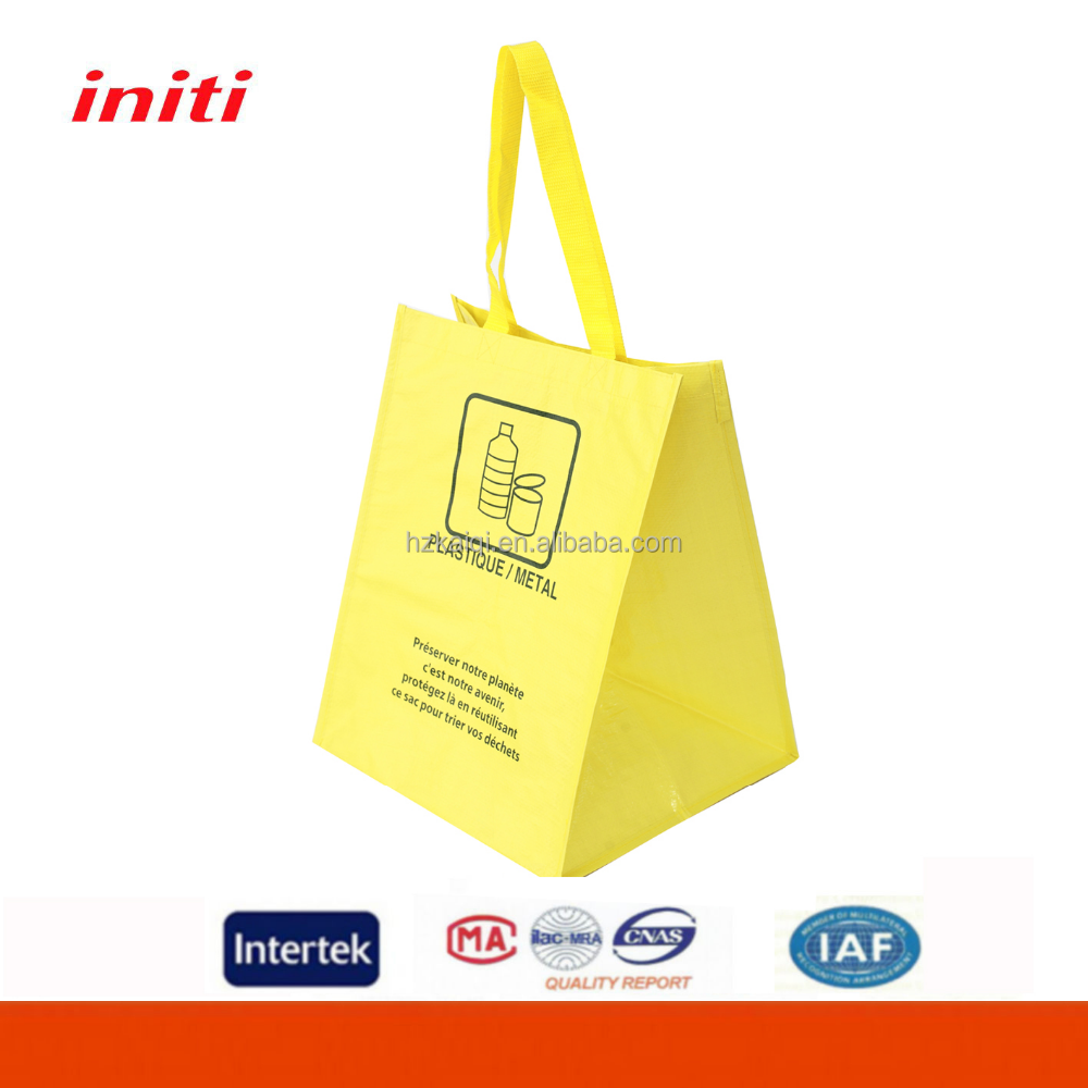 INITI Hot Sale Customized Tote PP Woven Shopping Bag