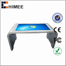 "HQ42CSK-2 42"" lcd indoor multi touch floor standing screens computers for hotel management and business center"