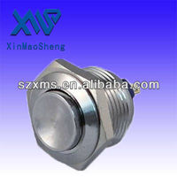 19mm high PCB type Stainless steel Anti-vandal push button switch