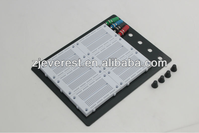 Universal Prototyping Electric Component 1620 tie-point Solderless Breadboard Board 16.8x13.5cm