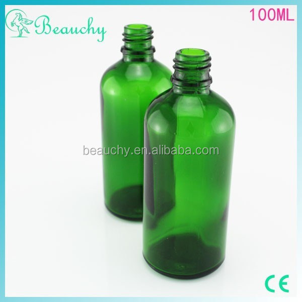 china alibaba 2015 beauchy New product 100ml Green olive oil glass bottle
