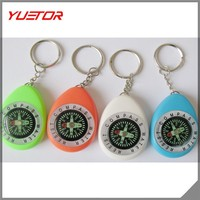 Hot selling popular Mini Outdoor Compass Hang Buckle