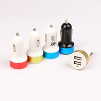 2 Port 5V 2A / 5V 1A USB Car Charger with Micro USB Data Cable for Samsung LG Android Smartphone Tablets Mobile Phone