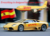 Low rate DHL express courier door to door China to USA