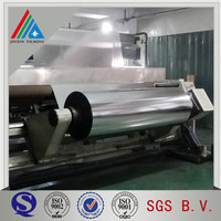 Silver Acrylic Coated Metallized PET Film