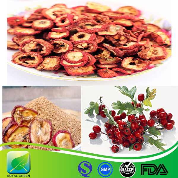 Factory supply Natural Hawthorn Berry Fruit Leaf Extract with best price