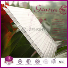 GENSIN manufactured double layer polycarbonate hollow sheet for sale