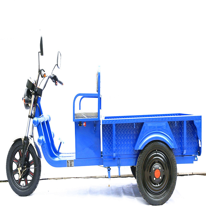 2017 new 48V 650W heavy duty tipper 3 wheel cargo tricycle on sale for adults