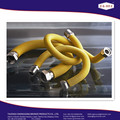 Flexible gas hose connection to boilers geysers, gas stoves
