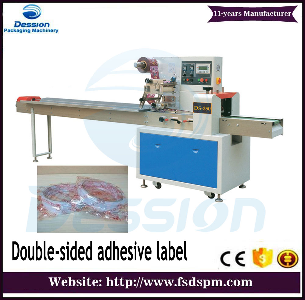 Double-sided adhesive label horizontal Packaging Machine price
