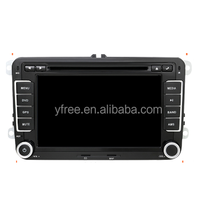 for vw golf 5 multimedia gps android car dvd player auto radio central 2 double din stereo audio touch screen navigation system
