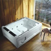 Shanghai SUYA E6A1 freestanding acrylic portable massage whirlpool bathtub