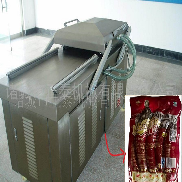 Four Temperature Four Condition Vacuum Packing Machine Correctly Connect Feed Cable And Ground Wire