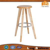 Wooden Bar Stool High Chairs 2015