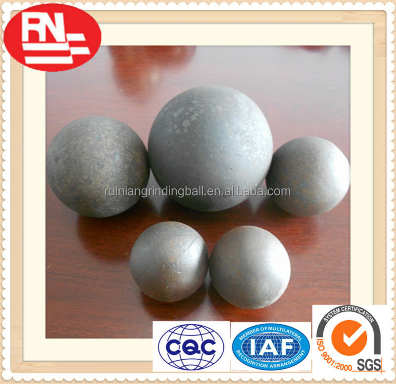 heat treated high hardness 1 6inches forged steel balls