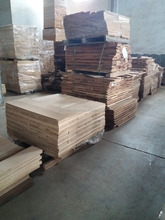 American black walnut veneer specially for laminate floor